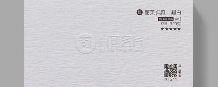 法国丽芙典雅超白 [名片纸张] AAAA 4A系列 纹路肌理