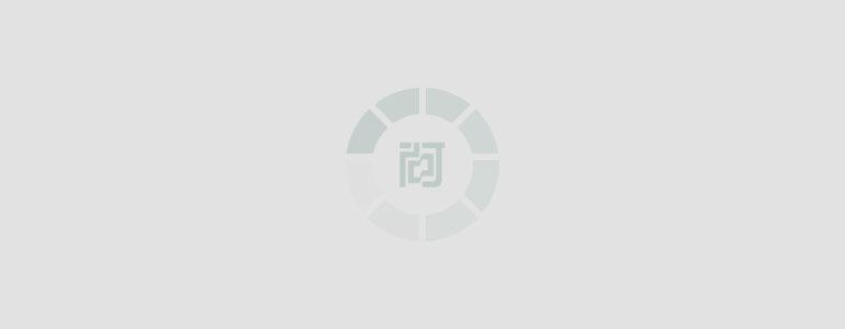 蓝绿色企业名片